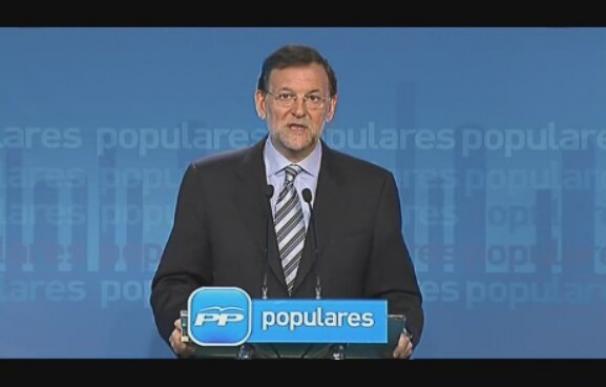 """Rajoy: """"Es una buena noticia porque es lo que quería la mayoría de los españoles"""""""