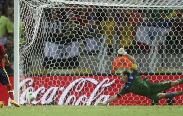 La tanda de penaltis del España-Italia fue vista por 13.355.000 espectadores