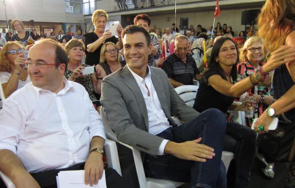 El PSC celebrará la Festa de la Rosa el 24 de septiembre con Pedro Sánchez en Gavà