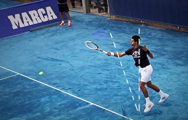 Novak Djokovic, a cámara lenta, comentado por Fernando Verdasco