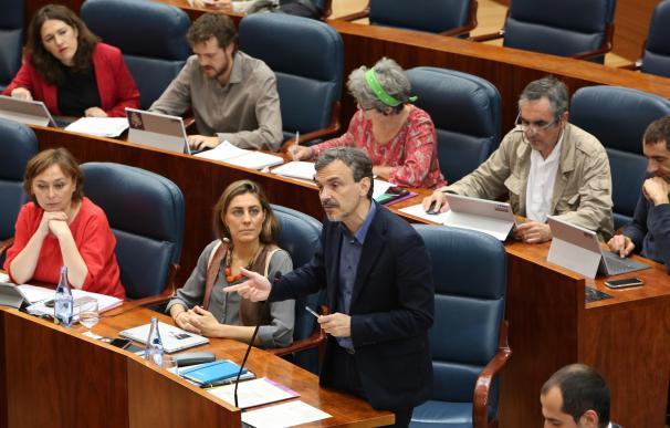"""Podemos critica que la Comunidad sea """"el Panamá interno"""" y que se pierdan millones por su política fiscal"""
