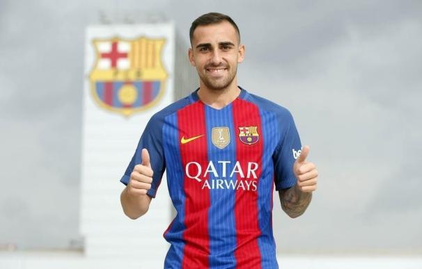 Paco Alcácer será presentado este jueves como nuevo jugador del FC Barcelona