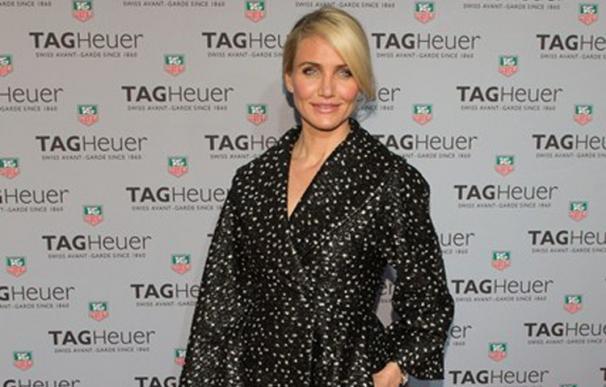 Cameron Diaz deslumbra en la apertura de la nueva boutique de Tag Heuer en Nueva York