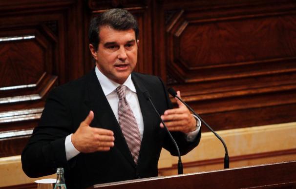 Laporta no descarta presentarse a las próximas elecciones a la presidencia del Barcelona