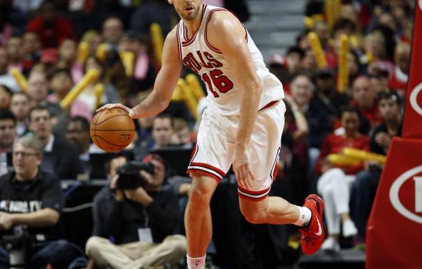 85-84. Butler, Gasol y Noah hacen posible la remontada de Bulls ante Hawks
