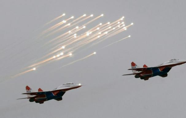 Estados Unidos intercepta seis cazas rusos cerca de Alaska
