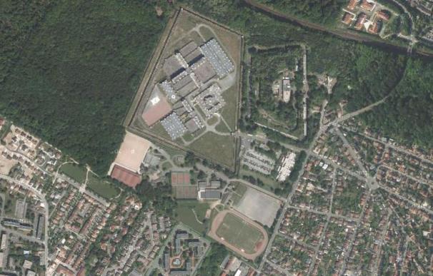 La cárcel francesa en Bois-d'Arcy.