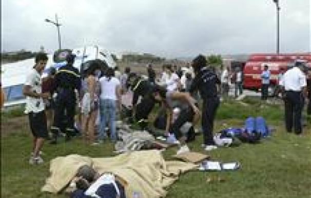 Mueren 14 personas al chocar dos autocares en el sur de Marruecos