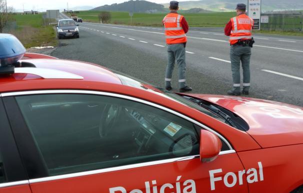 La próxima campaña especial de tráfico de las policías de Navarra se centrará en las carreteras convencionales