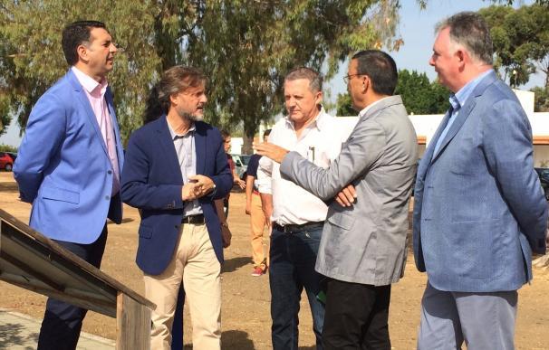 """La Junta muestra su """"satisfacción"""" por la posibilidad de que se triplique el área de Marismas del Odiel"""