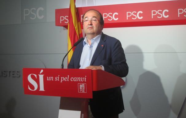 Iceta defenderá en el Comité Federal negociar la investidura con los independentistas