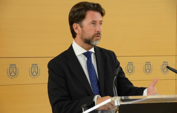 """Alonso admite """"tensión interna"""" en CC por la moción de censura en Granadilla (Tenerife)"""