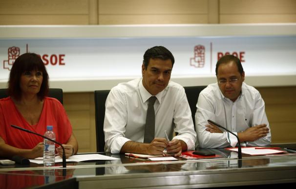 La mayoría de la Ejecutiva de Sánchez pide buscar una solución consensuada, manteniendo su legitimidad