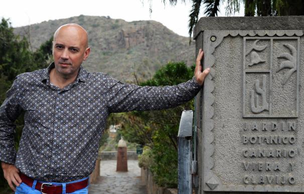 Perfil de Juli Caujapé, director del Jardín Botánico Canario Viera y Clavijo (Gran Canaria)