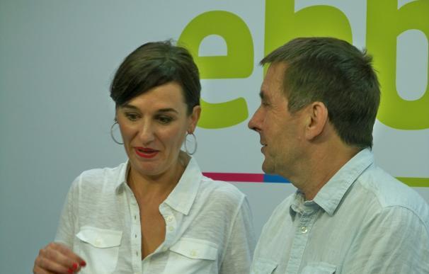 """Otegi califica de """"magníficos"""" los resultados de EH Bildu y mantiene su oferta de un pacto PNV-EH Bildu-Podemos"""