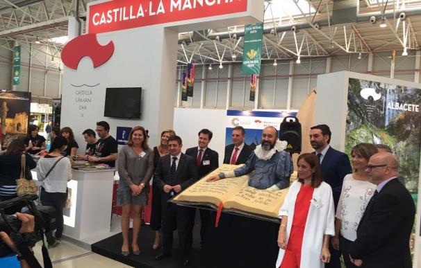 Castilla-La Mancha difunde sus atractivos turísticos y el Centenario de la Muerte de Cervantes en Tierra Adentro