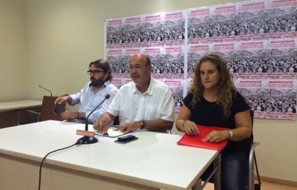 CC.OO., UGT y Usoc llaman a manifestarse el 6 de octubre contra la reforma laboral y por la renta básica