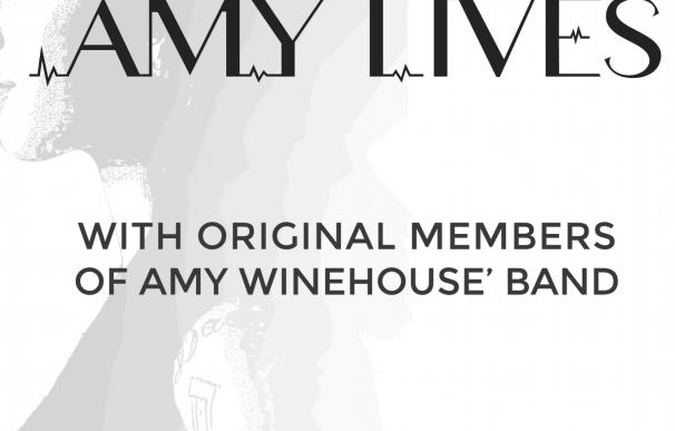 La banda inglesa 'Amy Lives Project' rinde tributo a Amy Winehouse en el Teatro Pérez Galdós (Gran Canaria)