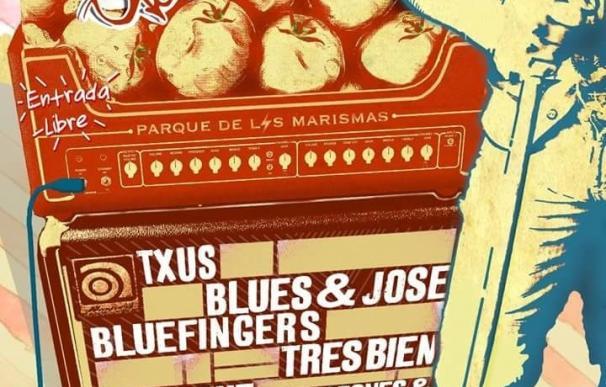 VI Tomate Blues este sábado en Los Palacios con Quique Bonal, Tres Bien o Laurence Jones