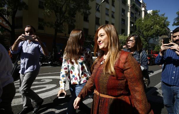 "Verónica Pérez tacha de ""argucia reglamentaria"" reunir la comisión de garantías después del Comité Federal"