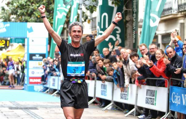 Martín Fiz participa este sábado en la carrera '#1,2,3 a correr' a favor de Cruz Roja en Almonte