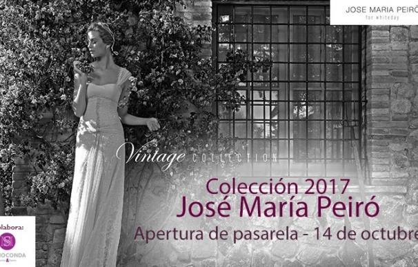 El diseñador José María Peiró abrirá la pasarela de Celebra Málaga el 14 de octubre