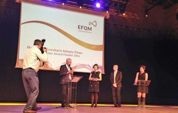 El Hospital Universitario Infanta Elena de Valdemoro resulta finalista del premio 'Excellence Award'
