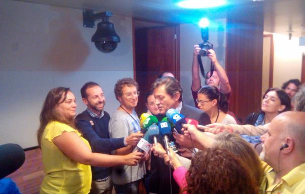 """Javier Fernández (PSOE) a la prensa: """"Comprendo su interés, pero no voy a hacer ninguna declaración"""""""