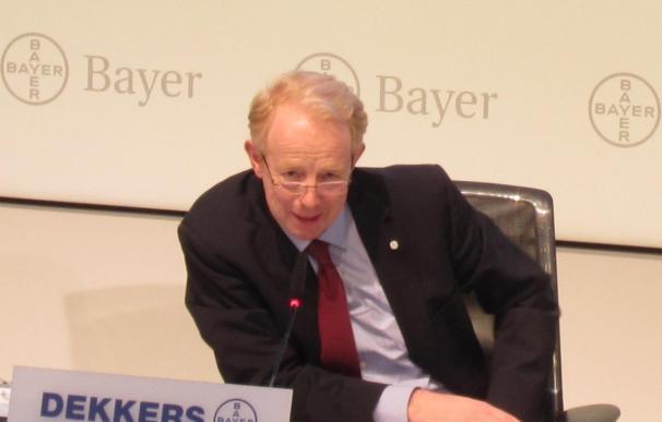 Bayer gana 2.446 millones en 2012, un 1% menos