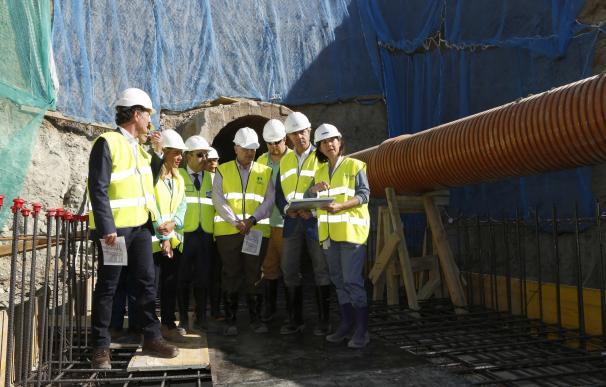 El Canal de Isabel II ultima las obras que mejorarán el sistema de saneamiento en Parla y Pinto