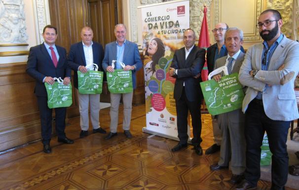 Hasta 280 comercios de Valladolid sortearán 3.900 euros en premios durante su campaña de otoño, hasta el 24 de octubre