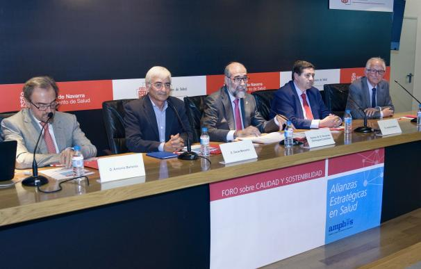 Responsables de Salud de Navarra y La Rioja analizan el papel de las alianzas en la mejora del sistema sanitario
