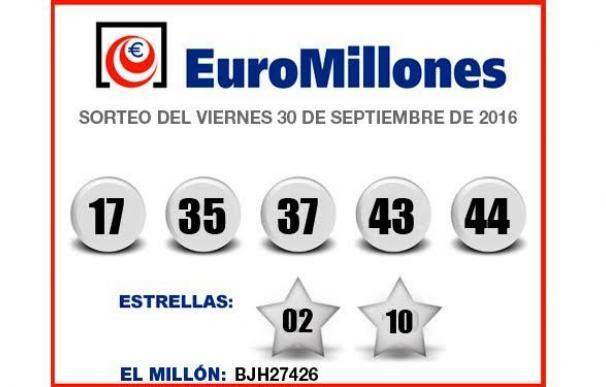 Esta es la combinación ganadora del nuevo Euromillones