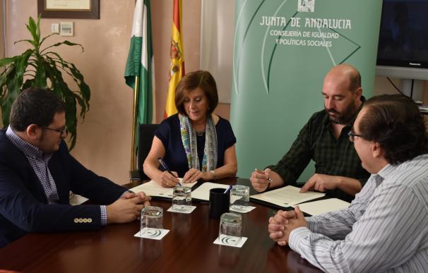 Sánchez Rubio firma un convenio con la Caongd para fortalecer las políticas de cooperación