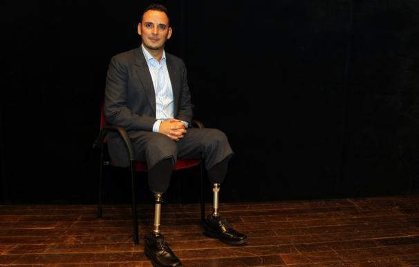 """Victor Mainé: """"El talento para mi es levantarte cada mañana y ponerme las dos prótesis"""""""