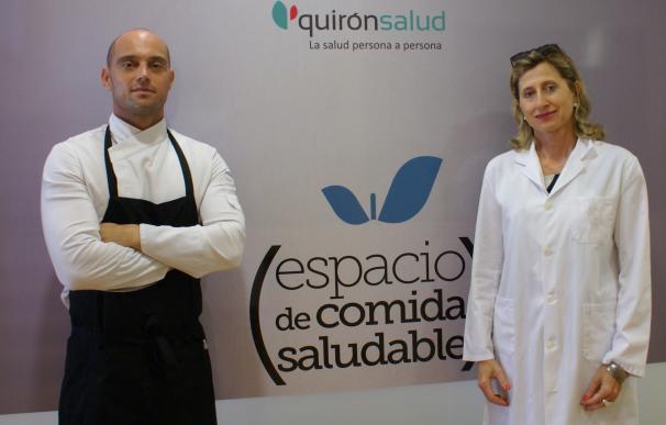 """Quirónsalud Valencia pone en marcha un sistema de alimentación íntegramente saludable con toque de """"alta gastronomía"""""""