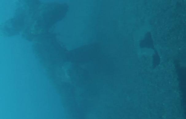 Buque Neptuno localiza el acorazado 'España', hundido en Santander en 1937