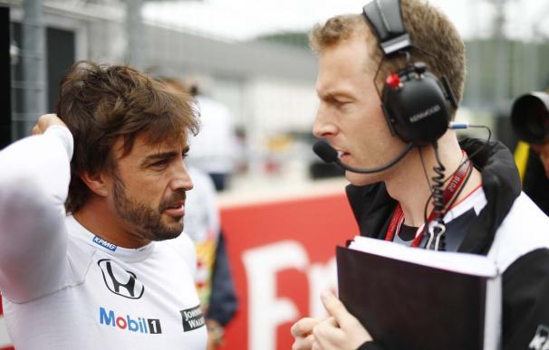 Alonso recibirá una penalización de 30 plazas por cambiar partes de su motor