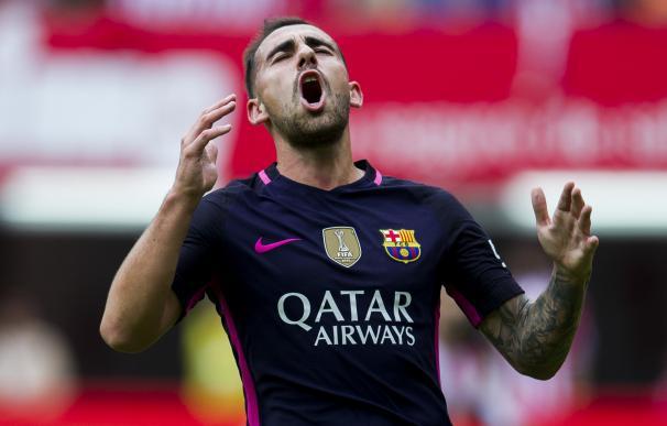 Alcácer 'paga' su fichaje por el Barça y se queda fuera de la selección