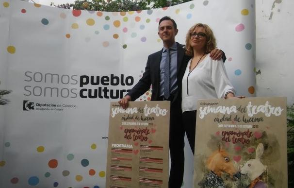 La Semana del Teatro 'Ciudad de Lucena' llena la localidad con un total de diez espectáculos