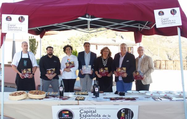 La ciudad de Cuenca presenta oficialmente su candidatura a Capital Española de la Gastronomía