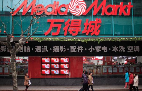 Media Markt tenía abiertas siete tiendas en Shanghai.