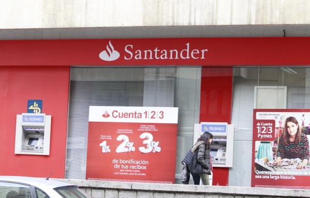 El Santander reduce un 37% su red de oficinas en España desde 2010 tras cerrar 1.600 sucursales