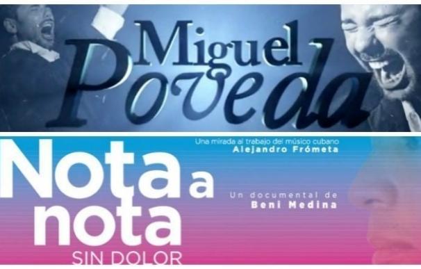 La Sala Berlanga acoge los documentales '13. Miguel Poveda' y 'Nota a nota, sin dolor' sobre el cubano Alejandro Frómeta