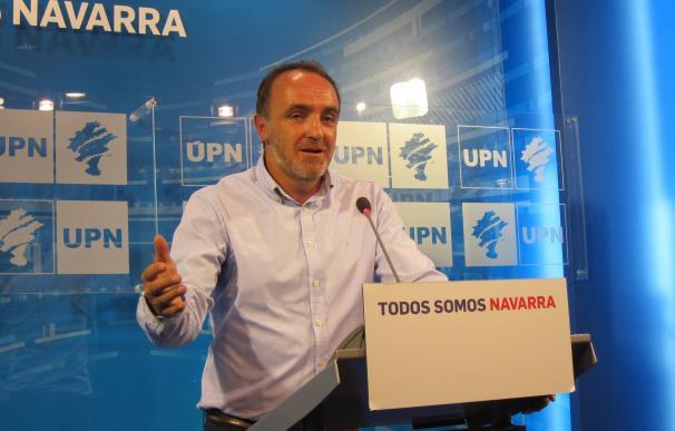 """Esparza pide al PSN que """"reflexione"""" sobre su """"tibieza"""" con los nacionalistas y dice que UPN no es su """"enemigo"""""""