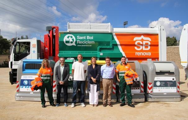 Sant Boi destina 5,2 millones a la renovación del sistema de recogida de residuos
