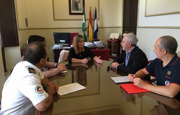 El nuevo parque de bomberos Riberas Campiña estará construido en 2018 con una inversión de 700.000 euros