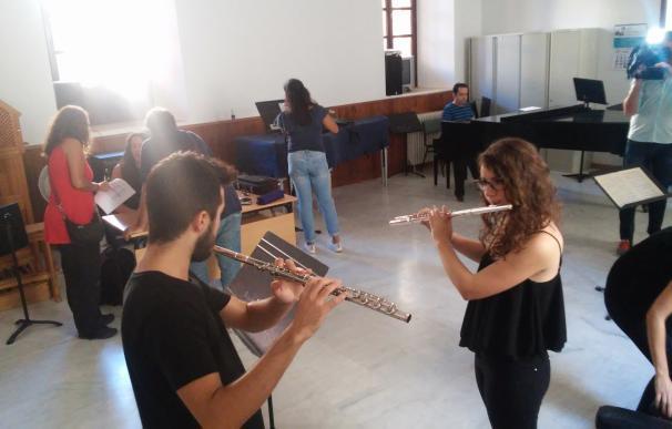 La Orquesta Joven Andalucía comienza audiciones para renovar la plantilla, a las que se presentan 800 jóvenes músicos