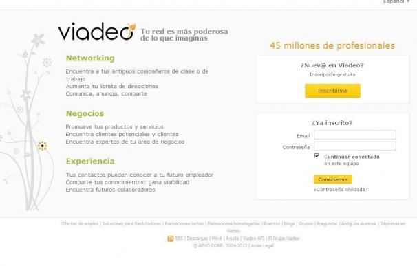 La red social profesional Viadeo adquiere la start-up francesa Pealk