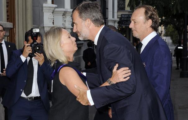 El Rey Felipe VI acude al funeral por el duque de Medinaceli